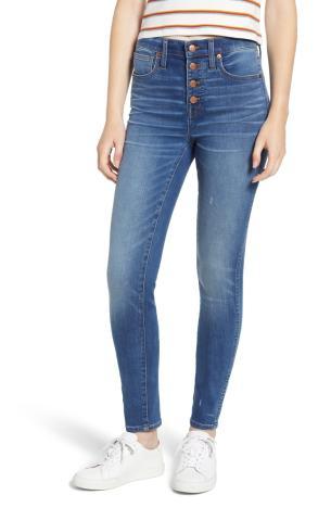 10-Inch High Waist Skinny Jeans MADEWELL