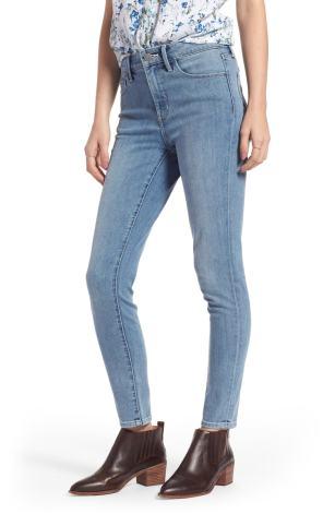 Charity High Waist Skinny Jeans TREASURE & BOND