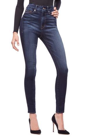Good Legs High Waist Skinny Jeans GOOD AMERICAN