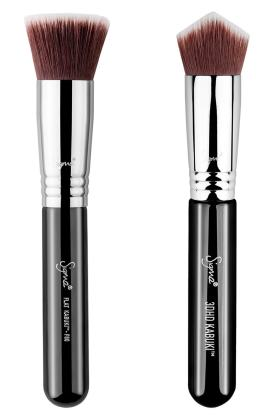 Total Complexion Kabuki Brush Duo