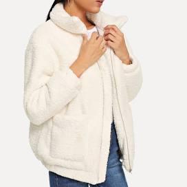 Zip Solid Jacket